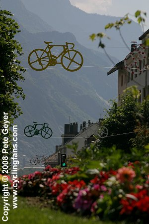 2006 Dauphine Libere, Stage 7:  Saint-Jean-de-Maurienne in the Maurienne Valley
