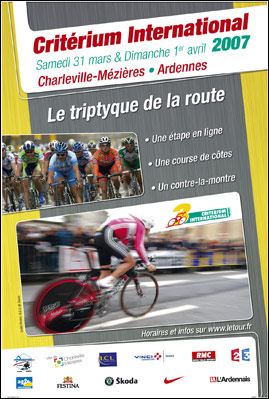 2007 Criterium International poster