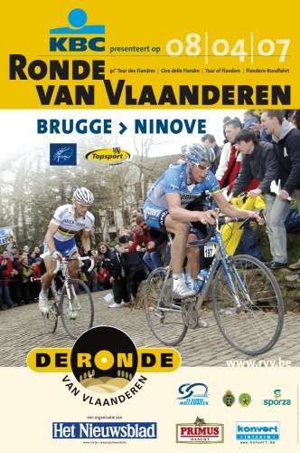 2007 Tour of Flanders poster