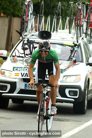 2008 Dauphine Libere:  Alejandro Valverde wins Stage 3 Time Trial