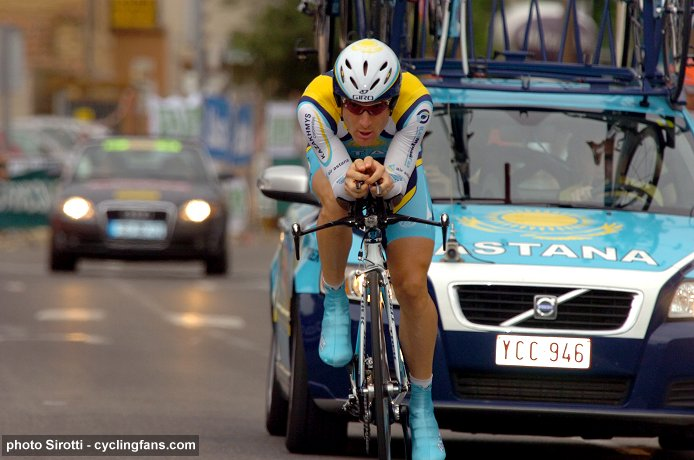 2008 Dauphine Libere: Levi Leipheimer (Astana) wins the Avignon prologue
