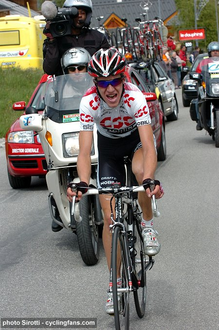 2008 Dauphine Libere: Chris Anker Sørensen (Team CSC) won Stage 6