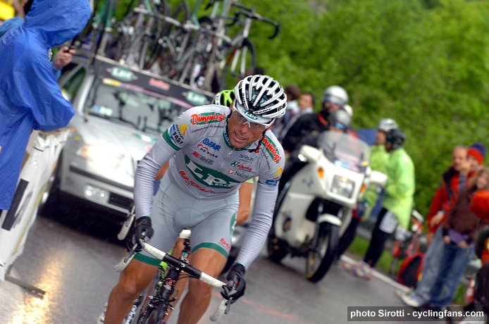 2008 Tour of Italy, Stage 19: Danilo Di Luca on the attack