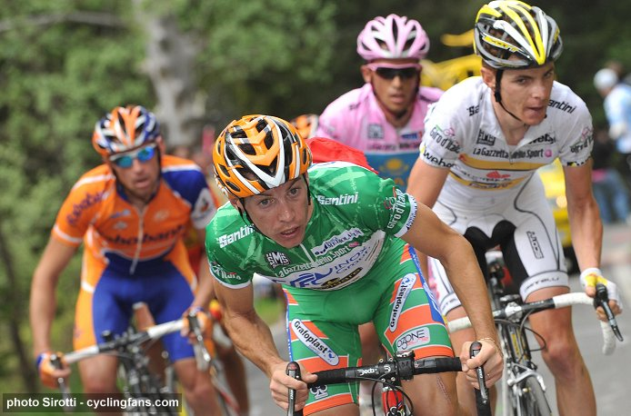 2008 Tour of Italy, Stage 20: Emanuele Sella attacked on the Passo del Mortirolo and won the stage