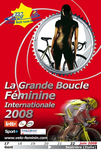 2008 Grande Boucle Feminine Internationale Official Poster
