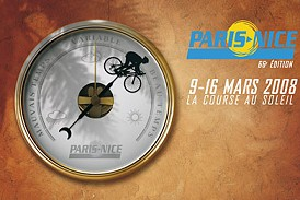 2008 Paris-Nice official poster