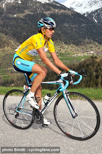 Andreas Kloeden of Astana won the 2008 Tour de Romandie