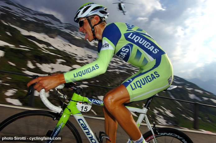 2008 Tour of Switzerland:  Roman Kreuziger (Liquigas) wins the Stage 8 Mountain Time Trial