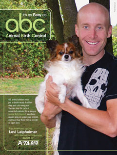 Levi Leipheimer helps animals