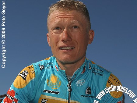 Alexander Vinokourov in Nice, France