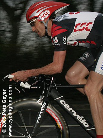Bobby Julich (CSC) wins the 2005 Criterium International