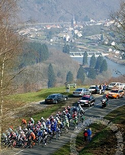 View from Montherme, 2004 Criterium International