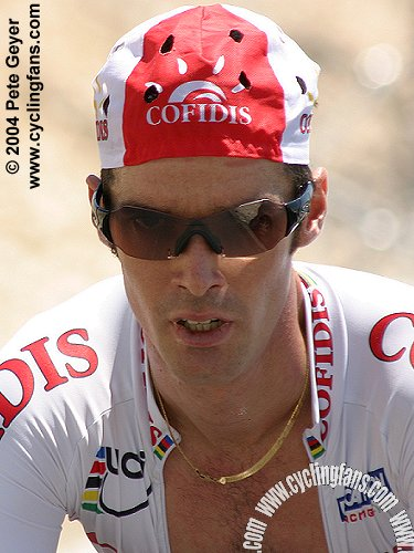 David Millar on Mont Ventoux, 2004 Dauphine Libere