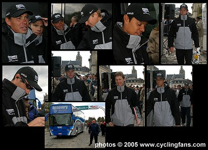 Discovery Channel Pro Cycling Team, Paris Roubaix 2005