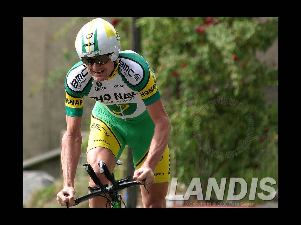 Floyd Landis 2005 Dauphine Libere Prologue Wallpaper