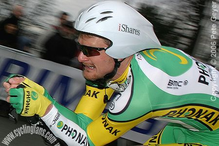 Floyd Landis (Phonak), 2006 Paris-Nice prologue
