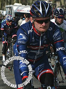 Floyd Landis and Lance Armstrong, 2004 Criterium International