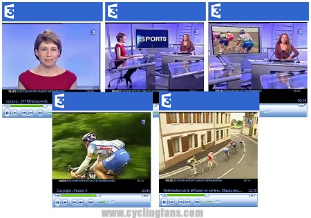 France Television Cycling Coverage