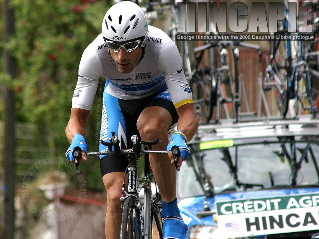George Hincapie 2005 Dauphine Libere Prologue Wallpaper