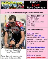 Giro live coverage