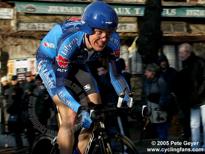 Jorg Jaksche 2005 Paris-Nice prologue photo
