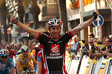 Jose Ivan Gutierrez wins Stage 1