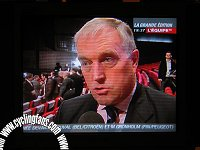 UCI president Pat McQuaid on L Equipe TV