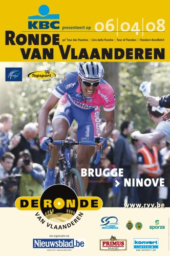 2008 Tour of Flanders official poster