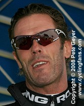 Mario Cipollini, Rock Racing, 2008 Tour of California