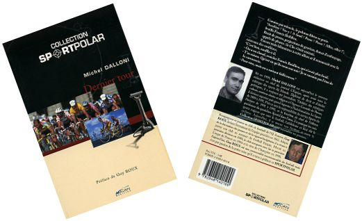 Front and back covers of Michel Dalloni novel