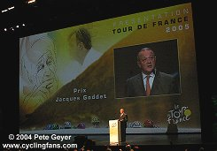 2004 saw the inaugural Prix Jacques Goddet
