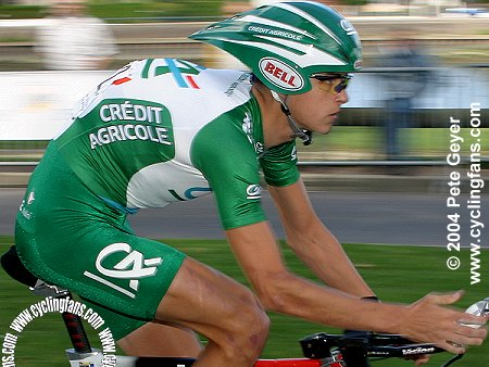 Saul Raisin (Credit Agricole), Grand Prix des Nations 2004