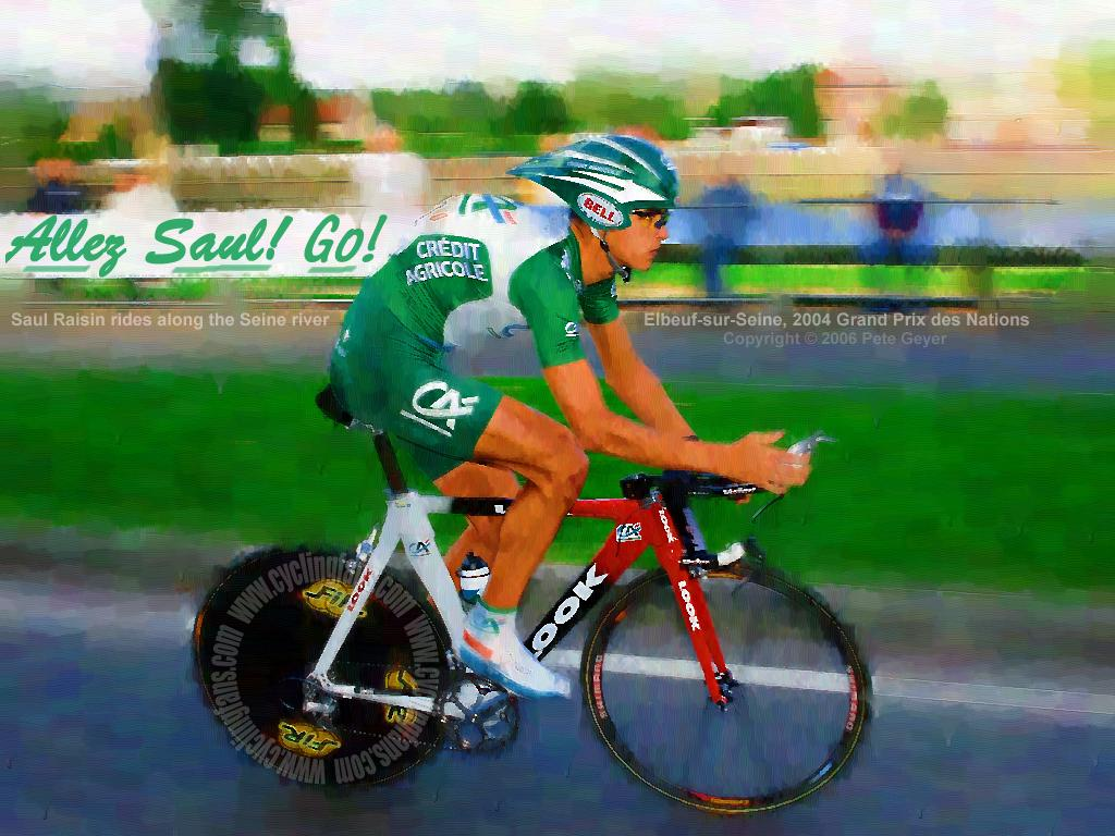 Saul Raisin 2004 Grand Prix des Nations Wallpaper