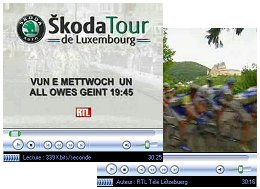 Skoda Tour de Luxembourg on RTL TV