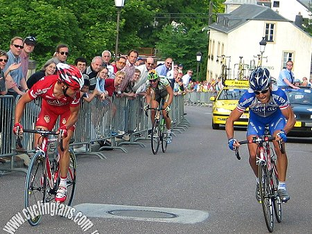 Thomas Voeckler wins stage 1, 2003 Tour de Luxembourg