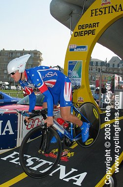Timothy Duggan, 2003 Grand Prix des Nations time trial