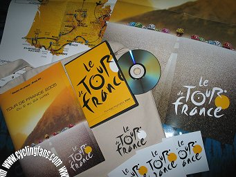 2005 Tour de France route presentation kit