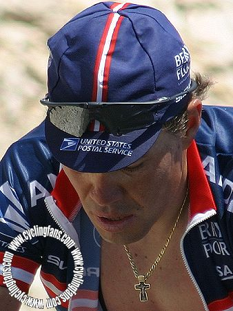 Viatcheslav Ekimov on Mont Ventoux, June 2004