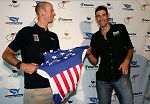 Chris Wherry and George Hincapie by Doug Pensinger/Getty Images